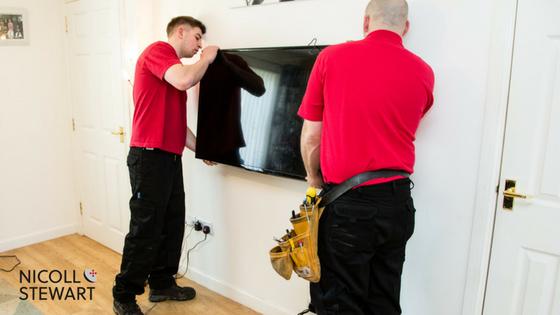 wall-mounting-tv-installation
