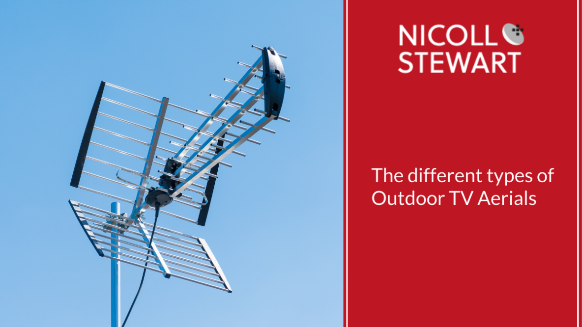 The different types of Outdoor TV Aerials